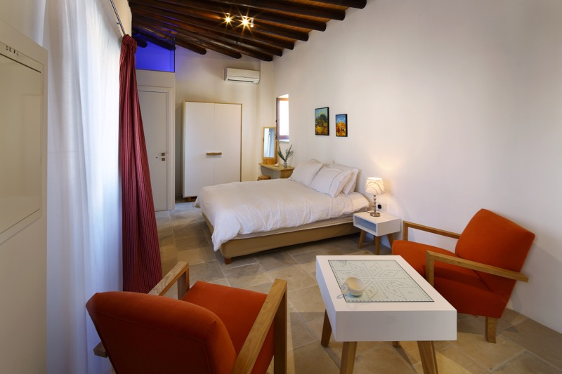 Room relax holiday agrotourism traditional village in Cyprus