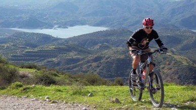 mountain bike Kato Drys Cyprus