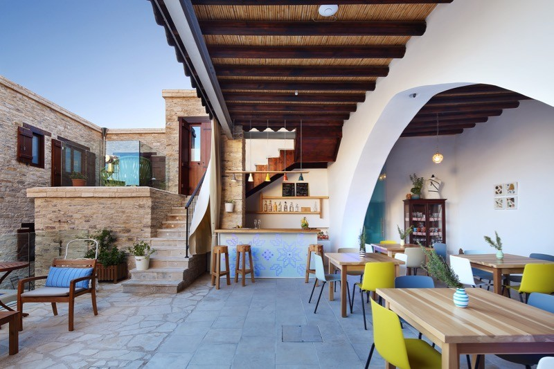 Bar restaurant relax holiday agrotourism village in Cyprus